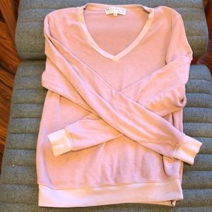 EUC wildfox V neck essential sweat shirt